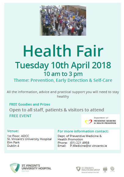 Health Fair st vincents